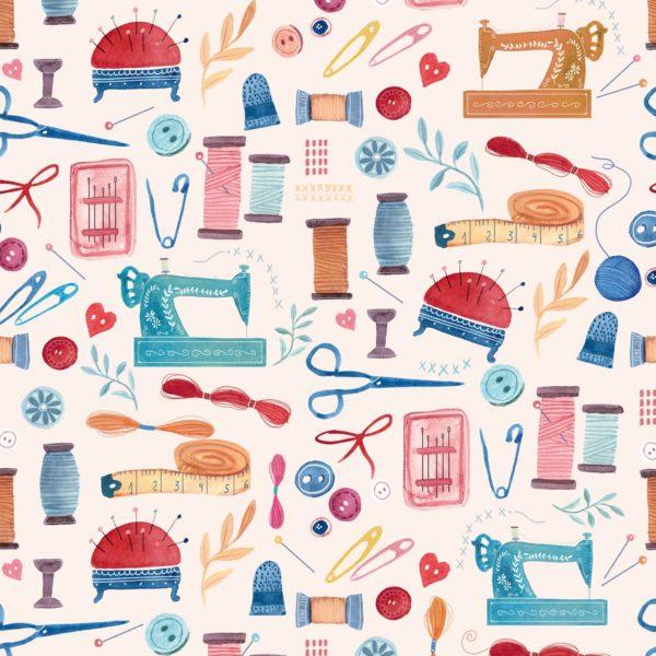 Tissu Coton Lourd Canvas Slim Sewers