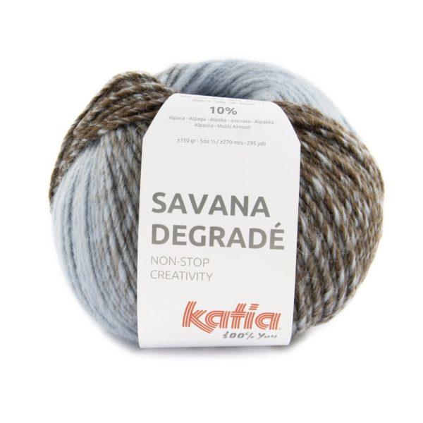 Savana Degradé Pelote laine dégradée